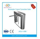 Tipo mezzo pedonale cancello girevole rotativo del ponticello di altezza di controllo di accesso del treppiedi