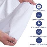 Beschermer 100% van de Matras van de koning de Waterdichte In te ademen Dekking van het Stootkussen van de Matras/Vrije Hypoallergenic/Vinyl