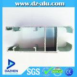 Profil en aluminium en aluminium d'extrusion du bâti 6063-T5 de &Doors de Windows de Guinée chaude de vente
