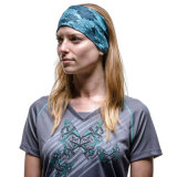 女性ポリエステル快適な首のウォーマーの多機能のヘッドスカーフ(YH-HS306)