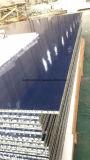 La couleur bleue HPL Honeycomb Panneau de base