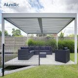 Elegante marco de aluminio exterior impermeable Pérgola Gazebo