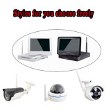 4CHS NVR WiFi kits con monitor LCD 10pulg.