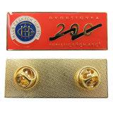 Pin promotionnel de revers de Spadina poids du commerce en métal avec l'embrayage de guindineau