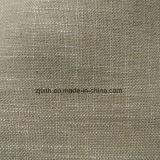Белая Linen ткань драпирования мебели в специальном основании