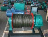 cable eléctrico de alta velocidad del torno eléctrico 2ton que tira del torno