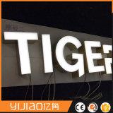 Spitzengroße LED geleuchtete Zeichen-Zeichen des Kanal-3D