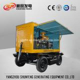 Для мобильных ПК типа 150квт мощности Cummins дизельный генератор с атмосферостойкий корпус