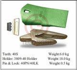 3809-40 конструкция оборудует держатель зубов ведра для землечерек