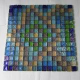 China mosaico de vidrio de bajo precio para la piscina mosaico