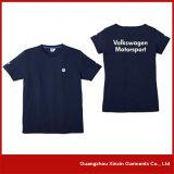 도매 고품질 100% 빗질된 면 긴 소매 t-셔츠 (R156)