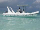 Liya 6.6m Boot van de Patrouille van de Boot van Hull van de Glasvezel de Opblaasbare Militaire