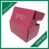 Kundenspezifischer aufbereiteter gewölbter Verschiffen-Karton-Kasten mit Farben-Drucken