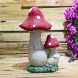 Mini decorazione leggiadramente variopinta del fungo della Camera del giardino