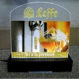 Panneau de publicité acrylique fait sur commande pour des systèmes