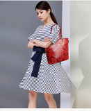 [شنس ستل] ضغطة زهرة بوسطن حقيبة عامل متجوّل حقيبة رسول حقيبة بطاقة حقيبة مفتاح حقيبة حقيبة يد