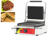 Máquina eléctrica Prensa Panini Grill Sandwichera Hamburger Maker