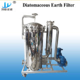 Pharmaceutical gold Syrup Metal Diatomite Filter Machine