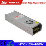 fonte de alimentação HTC do interruptor do transformador AC/DC do diodo emissor de luz de 12V 33A 400W