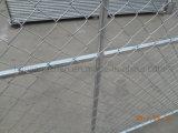 Оптовая продажа труба 33.4 mm круглая сварила временно панели загородки с перекрестной расчалкой (XMR65)