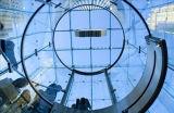 Haute qualité en verre feuilleté mur rideau trempé