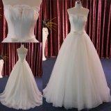 끈이 없는 공단 레이스 신부 드레스 결혼 예복 중국제