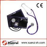 Rappaportの聴診器が付いている液体を用いないSphygmomanometerキット