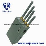 Alto potere tenuto in mano - emittente di disturbo portatile del telefono delle cellule delle antenne omnidirezionali