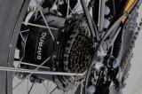 접히는 전기 뚱뚱한 타이어 자전거