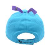 Бейсбольная кепка Twill хлопка малышей с смешной логосом