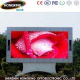 Tablilla de anuncios de tres años al aire libre de LED de la garantía P6