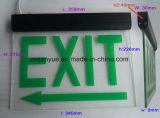 L'illuminazione di soccorso Non-Effettua il doppio indicatore luminoso dell'uscita di sicurezza delle teste LED