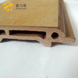 profiel van de Decoratie van de Muur van het Comité van 100*16mm het Binnenlandse Houten Plastic Samengestelde