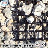 Maille tissée par Stensile élevée d'acier du carbone pour le tamis en pierre