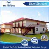 Sip-strukturelles Isolierleuchte-Stahllandhaus-Haus