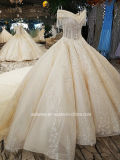 Aoliweiya Suite Nova chegada Princess vestido de casamento