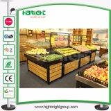 De Planken van de Opslag van de Groente en van het Fruit van de supermarkt