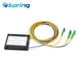 La fibra óptica de 1*2 PLC Splitter con LC Conector APC