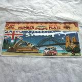 Номерной знак мостовья для вашего автомобиля, с изготовленный на заказ размером и печатание
