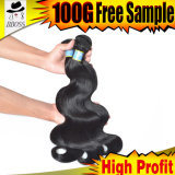 Cabelo brasileiro humano, cabelo do Virgin, cabelo não processado