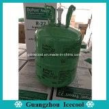 Gás do Refrigerant do peso líquido 13.6kg Freon R22/R404A/R134A/R410A/R407c de Du Pont Suva (refrigerante)