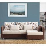 Moderner Entwurfs-L-förmiges Sofa-Bett mit Speicherung
