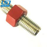 Attache de chaîne en acier inoxydable personnalisé boulon en T avec l'écrou en téflon rouge