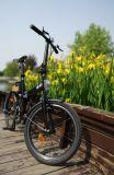 Vélomoteur auxiliaire se pliant de vélo d'Inmotion de tambour de chalut personnel pour la ville