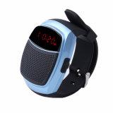 Deportes Música inalámbrica Mini altavoces Reloj inteligente Anti-Lost pantalla LED de alarma en modo manos libres