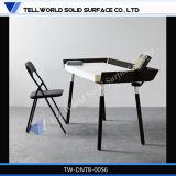 Corian Büro-Tisch-Oberseite-Chef-Büro-Schreibtische steuern Möbel automatisch an