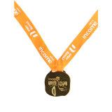 Fördernder kundenspezifischer silberner Decklack-Athlet Sports Medaille
