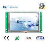 Defination élevé, '' TFT LCD 5 avec le contact Screen+Ttl/RS232 de Rtp/P-Cap