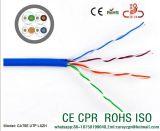 Ftp Cat5e de câble LAN de la CE du passage CPR d'essai de flet de câble de transmission de câble de Cat5e
