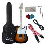 Guitare électrique électrique en gros de Tl de corps solide d'Aiersi à vendre